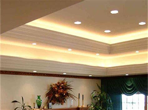 indirect ceiling lighting living room ceiling plaster crown indirect lighting
