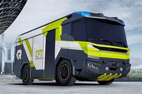 futuristic fire crew trucks fire truck concept