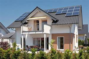 haus mit satteldachgaube und balkon schworerhaus With markise balkon mit tapet living modern
