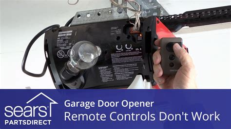 garage door opener goes up but not garage door opener won t open opener remotes don t work