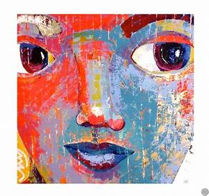 Peinture Visage Femme : tableau abstrait visage femme ~ Melissatoandfro.com Idées de Décoration