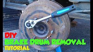 Rear Brake Drum Removal Tutorial Toyota Hilux  Surf Mk3
