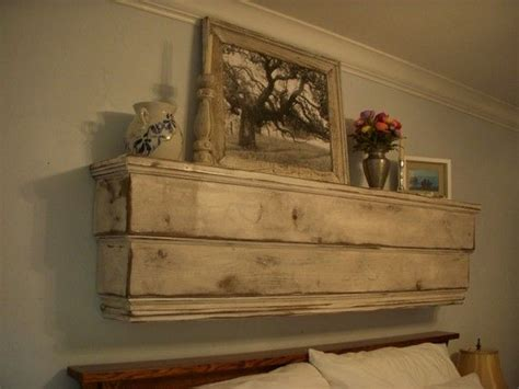 Tiered, Wall Mantel, Floating Wood Mantle, Floating Mantle