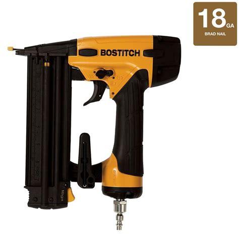 Bostitch Floor Nailer Home Depot by Bostitch 18 5 8 In 2 1 8 In Brad Nailer Bt1855k