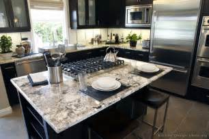 black granite kitchen island pictures of kitchens traditional black kitchen cabinets kitchen 6