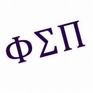 phi sigma pi phisigmapi twitter With sigma pi greek letters