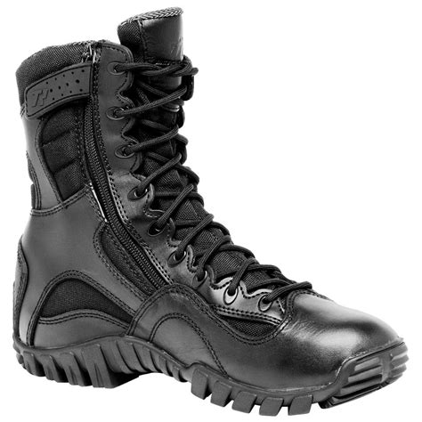 tactical boots boot side zip combat khyber lightweight research military gear shoes police mens qmuniforms footwear shoe army left clothing