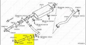 2004 Nissan Xterra Catalytic Converter Diagram