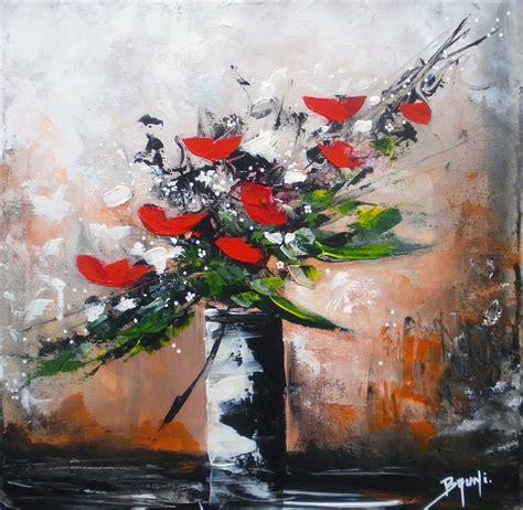 bouquet sauvage par l artiste peintre bruni galerie de l artiste peintre bruni eric