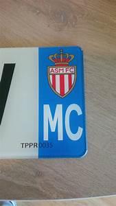 Plaque Immatriculation Verte : plaque immatriculation plexiglass d partement au choix et logo as monaco ~ Maxctalentgroup.com Avis de Voitures