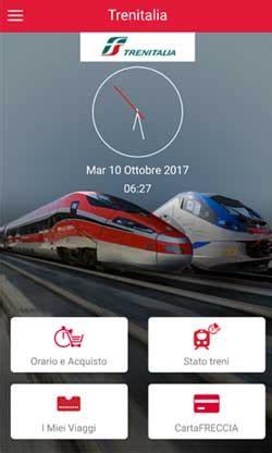 Trenitalia Mobile Orari Treni by Trenitalia Mobile App Orari E Prezzi Per Acquisto
