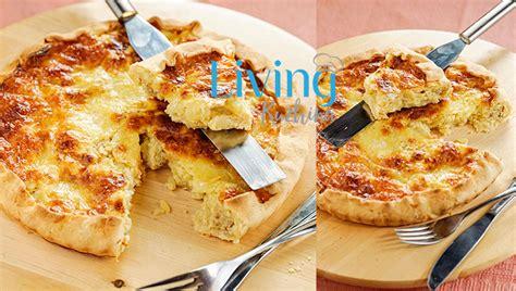Tartë e kripur me patate dhe djathë - Menu dimri