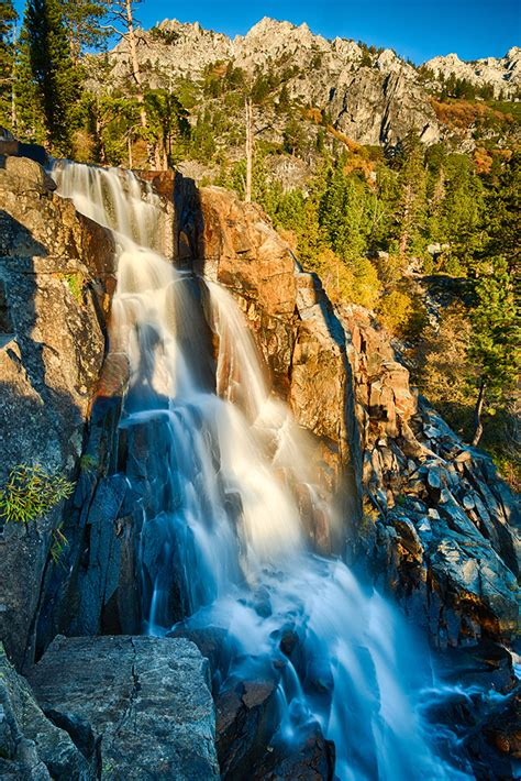 waterfalls  south lake tahoe property