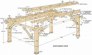 DIY Pergola Plans Free Pergola Design Ideas