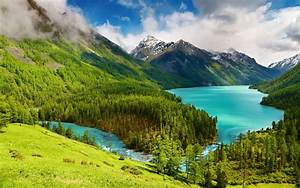 forest, Mountain, Trees, Water, Lake, Landscape, Nature Wallpapers HD / Desktop and Mobile ...