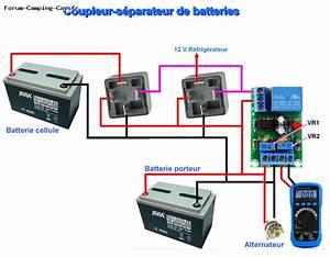 Coupleur Separateur Batterie Camping Car : couplage des batteries coupleurs s parateurs relais coupe circuit ~ Medecine-chirurgie-esthetiques.com Avis de Voitures