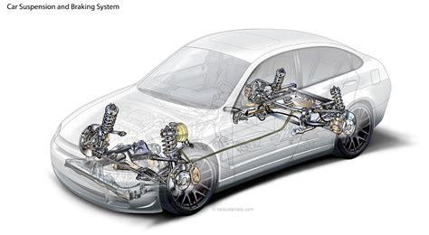 technical illustration beau and alan generic cutaway car