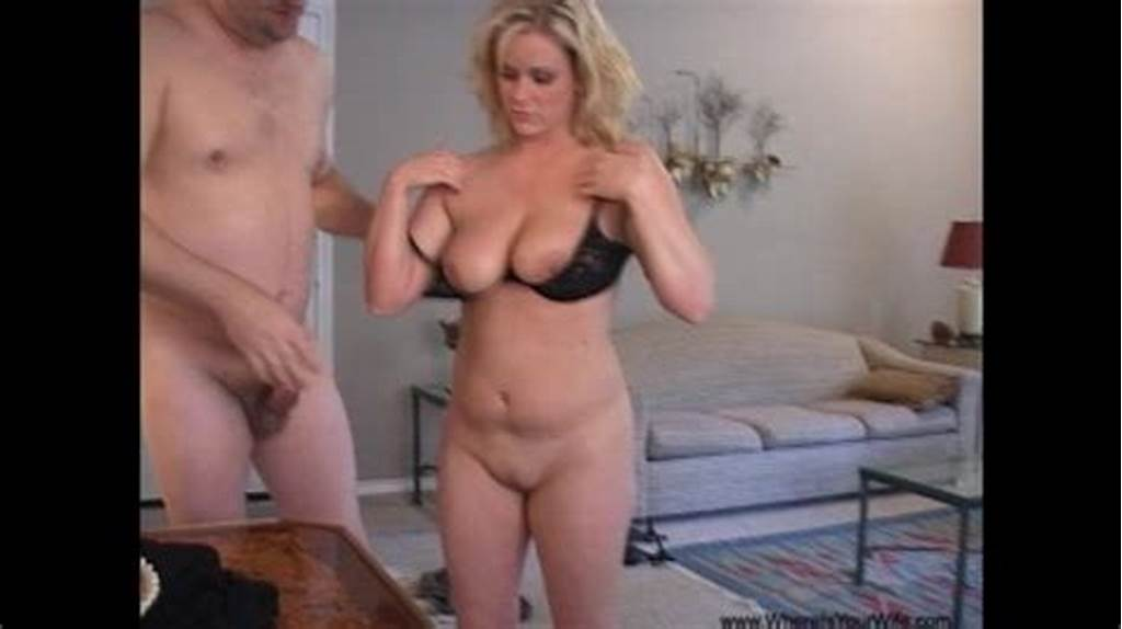 #Chubby #Blonde #Milf #With #Big #Juggs #Riding #A #Stiff #Rod