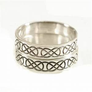 Wedding ring set his and hers wedding rings celtic wedding for Celtic wedding rings his and hers