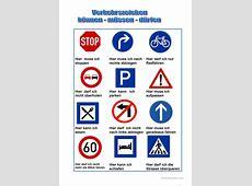 Verkehrszeichen Arbeitsblatt Kostenlose DAF Arbeitsblätter