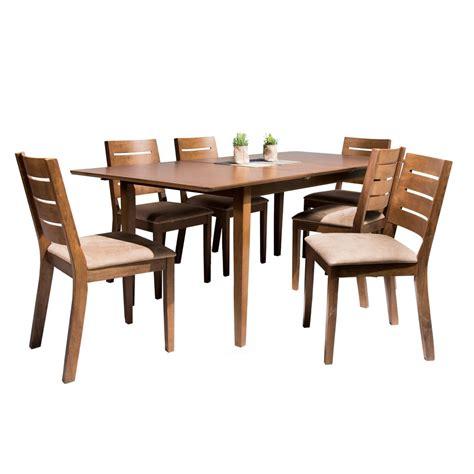 juego de comedor joy extensible  sillas