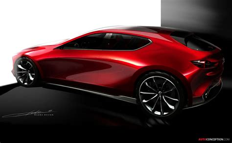 mazda vision coupe concept car wows crowds  tokyo