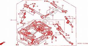 Throttle Body  Assy   For Honda Vfr 800 2002   Honda