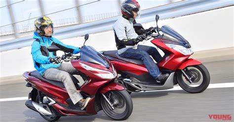 Pcx 2018 Change by 2018 Honda Pcx150 Vs Pcx150 Comparison Test Review