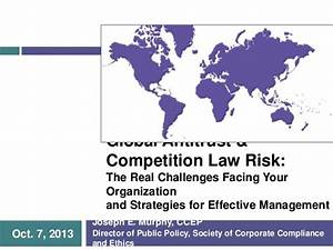 [201] Global Antitrust & Competition Law Risk: The Real ...