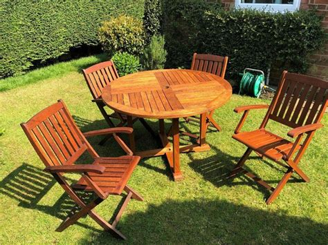 garden furniture set solid teak garden table cm
