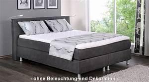 Boxspringbett 180x200 Kunstleder : oschmann boxspringbett ~ Whattoseeinmadrid.com Haus und Dekorationen