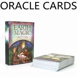 English Earth Magic Oracle Cards Deck 48 Cards  Tarot Cards Guidance Future Fate Fortune Telling