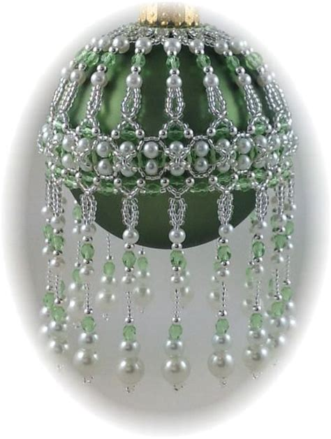 p veiled beauty ornament cover pattern beaded christmas