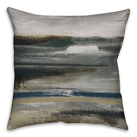 grey and brown throw pillows neutral abstract throw pillow in grey brown bed bath 6951