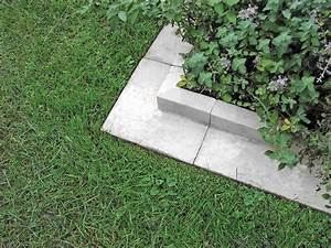 Arcadian, Outside, Corner, Lawn, Edging