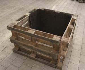 Hochbeet Aus Paletten Bauen : hochbeet aus holz komposter bauen ~ Whattoseeinmadrid.com Haus und Dekorationen