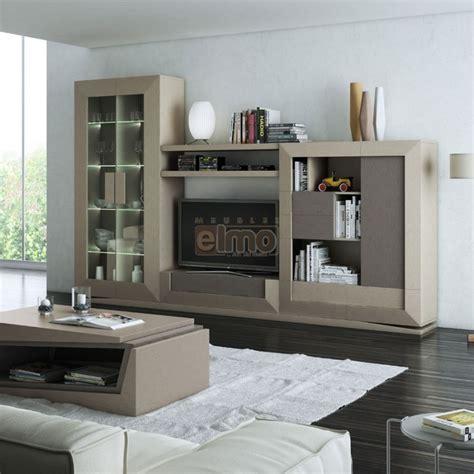 ensemble meuble tv contemporain chene de france laque