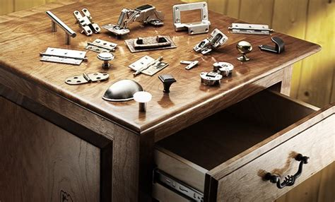 hardware  rockler drawer  hinges knobs pulls