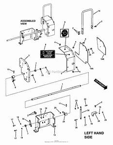 Snapper Pro 7085628   61 U0026quot  Mower Deck Series 1 Parts Diagram For