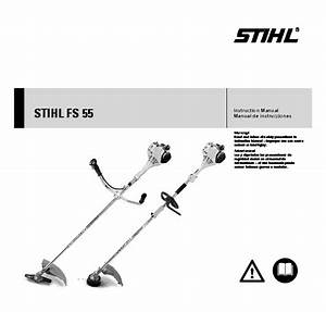 Stihl Fs 55 Trimmer Owners Manual