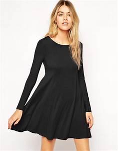 robe noire manche longue pour toutes les occasions possibles With robe noire manches longues