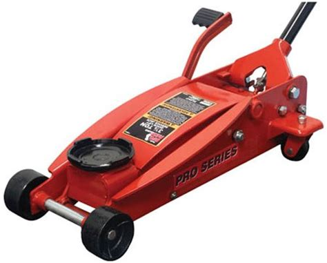 Torin Big Red Quick Lift Floor Jack With Foot Pedal
