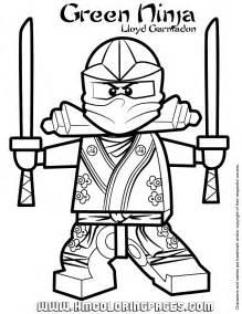 ninjago green ninja lloyd garmadon coloring page - Coloring Pages Ninjago Green Ninja
