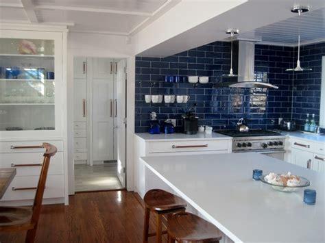 blue subway tile kitchen contemporary kitchen 4841