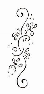 Floral border   Henna designs, Vine tattoos, Flower vine ...