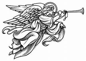 Christmas Angel Art - Cliparts.co