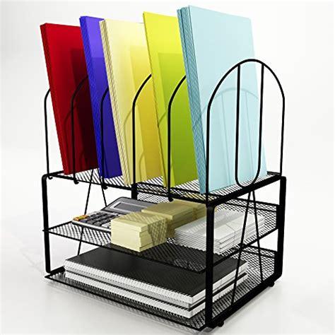 binder organizer for desk desk organizer small footprint wire mesh file holder