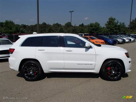 jeep srt 2015 white bright white 2014 jeep grand cherokee srt 4x4 exterior