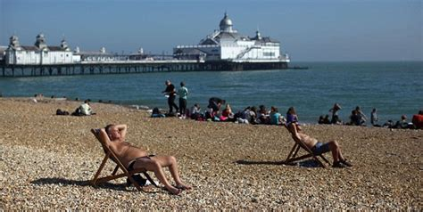 Snow Alerts At Heathrow And Plymouth As Uk Swelters In
