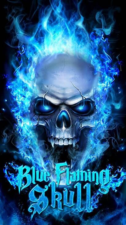 Skull Flaming